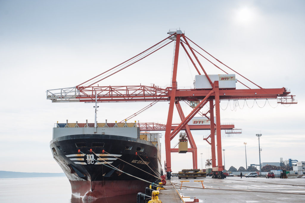 Government of Canada announces funding for key improvements to the Port of Saint John