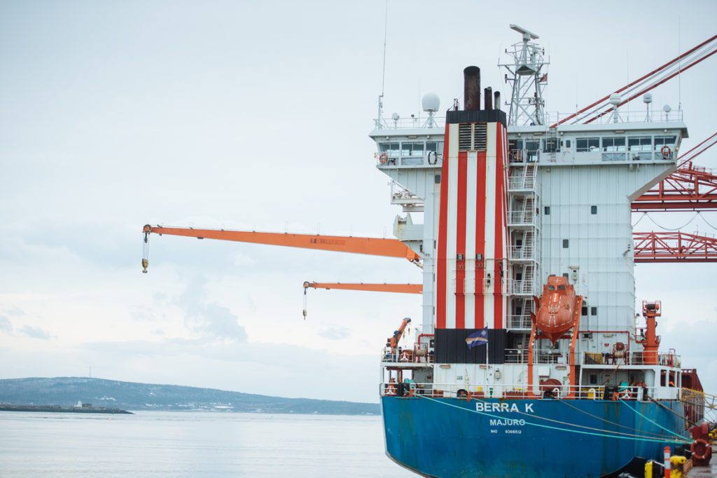 Port Saint John goes after larger ships to boost province's economy
