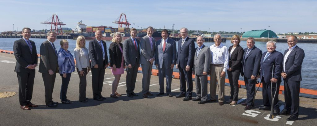 Government funding to help strengthen and broaden cargo services at Port Saint John