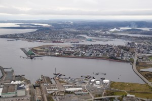 Main Harbour and Courtenay Bay 2010